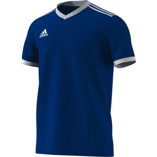 plain blue football jersey