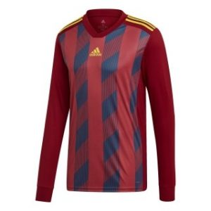 Adidas Striped 19 Youths Football Jersey Long Sleeve